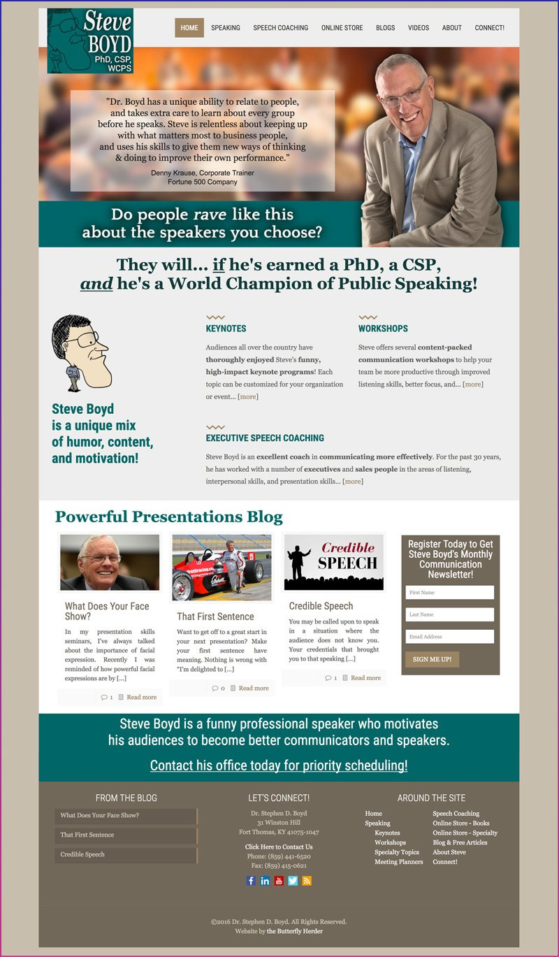 Dr. Steven Boyd, CSP, World Champion of Public Speaking