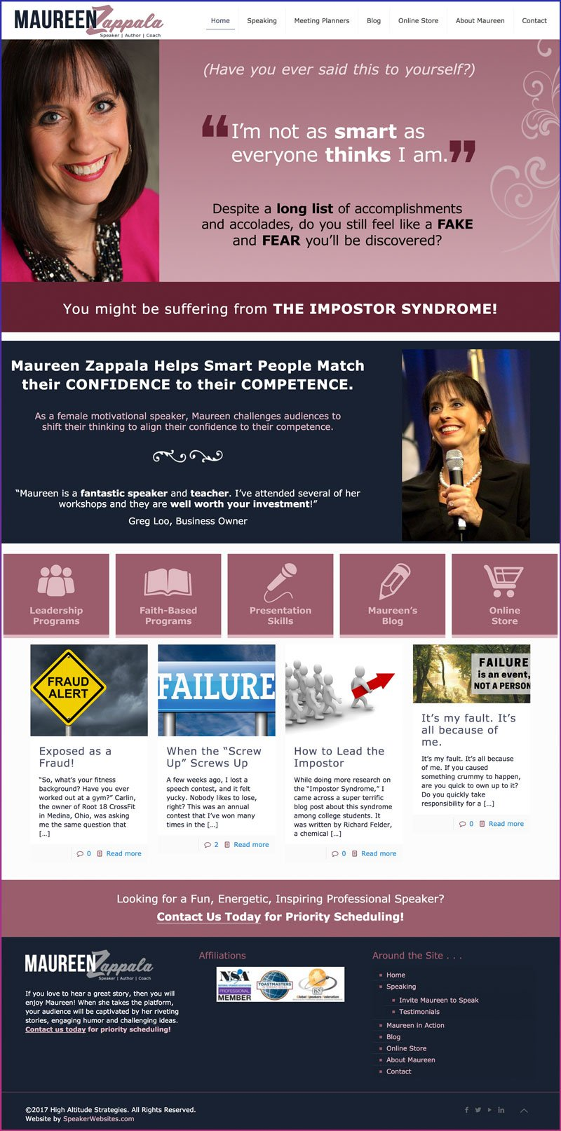Maureen Zappala, Leadership & Faith-Based Speaker, and Public Speaking Coach
