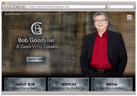 Bob Goodyear - Tech Speaker & Speaking Coach