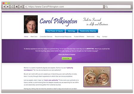 Carol Pilkington - BEFORE