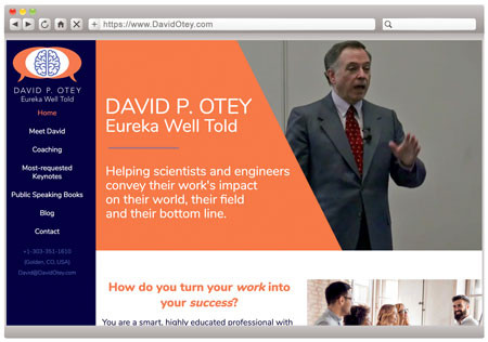 David Otey - Technical Speaking Coach
