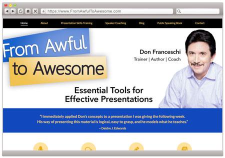 Don Franceschi - Public Speaking Coach & Speaker