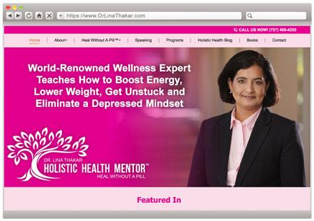 Dr. Lina Thakar - Health & Wellness Speaker