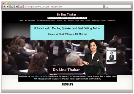 Dr. Lina Thakar - BEFORE