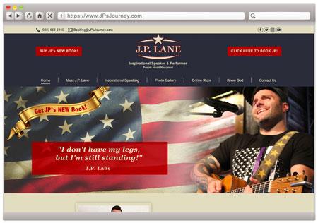 J.P. Lane - Military Speaker / Entertainer