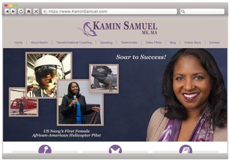 Kamin Samuel - Professional Speaker & Coach