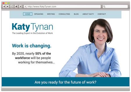 Katy Tynan, Professional Speaker