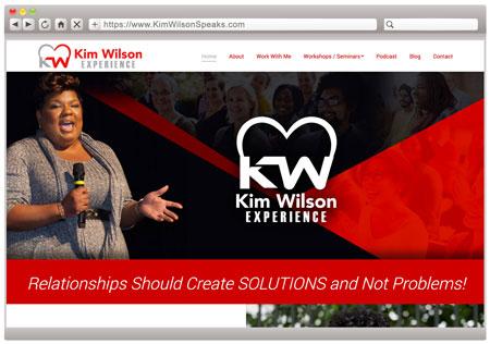 Kim Wilson - Relationship Speaker & Coach