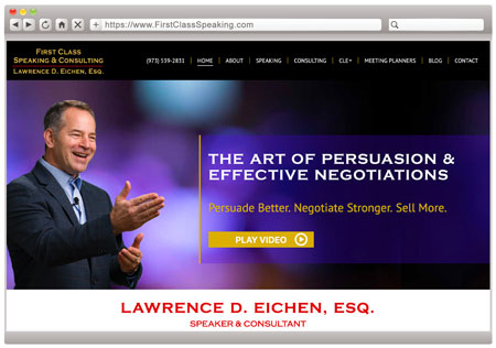 Lawrence D. Eichen, Esq. - Negotiation Speaker