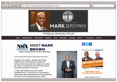Mark Brown - BEFORE