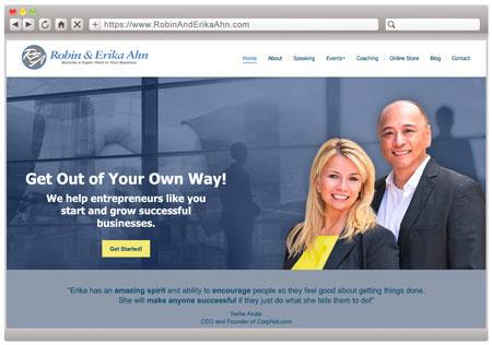 Robin & Erika Ahn - Entrepreneurship Speakers